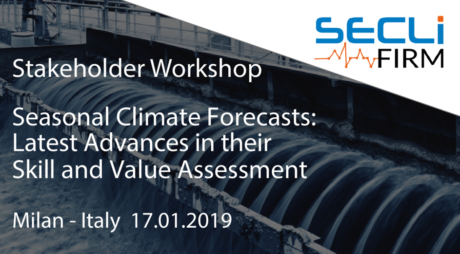 SECLI-FIRM Stakeholder Workshop